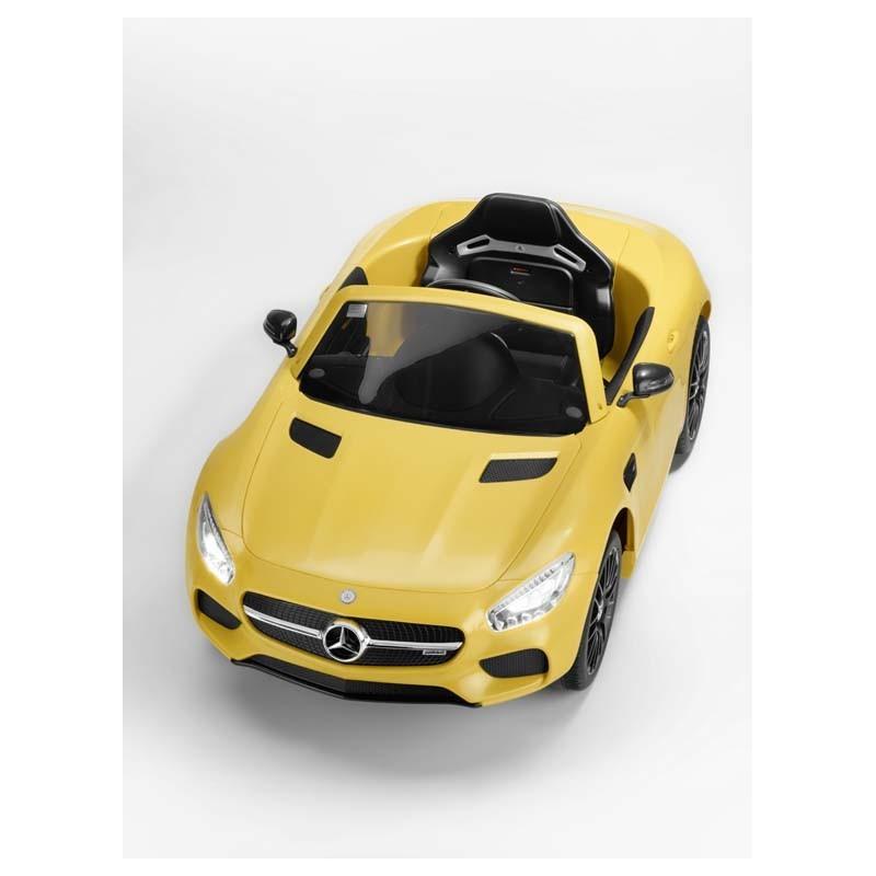 Original Mercedes-Benz Elektrofahrzeug, Auto AMG, GT S mit LED ...