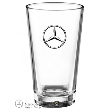 Mercedes-Benz Trinkglas, transparent