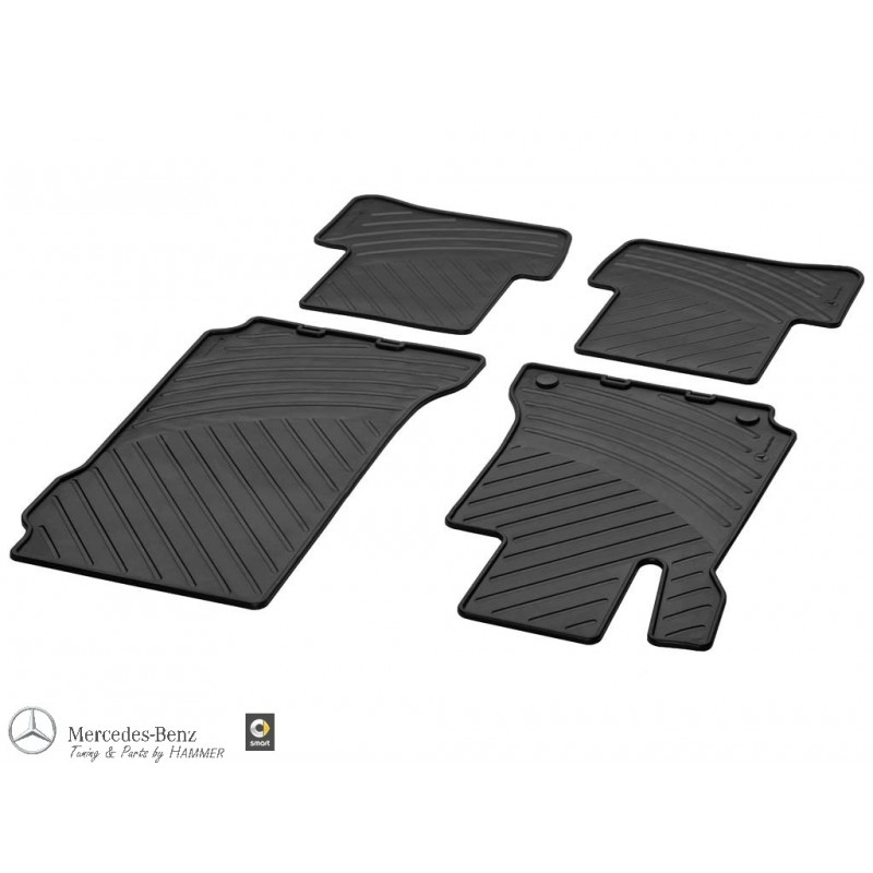 Original Gummimatten Fußmatten Mercedes Benz C-Klasse Coupe C204 NEU Satz