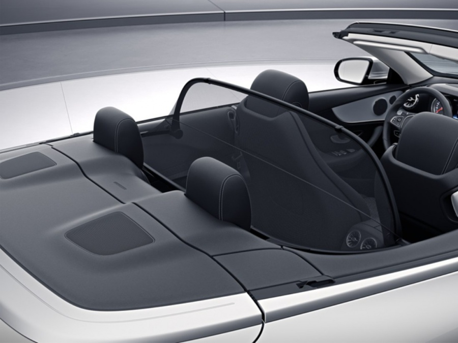 Carbon Optik 2010-2016 Mercedes E-Klasse A207 Windschott