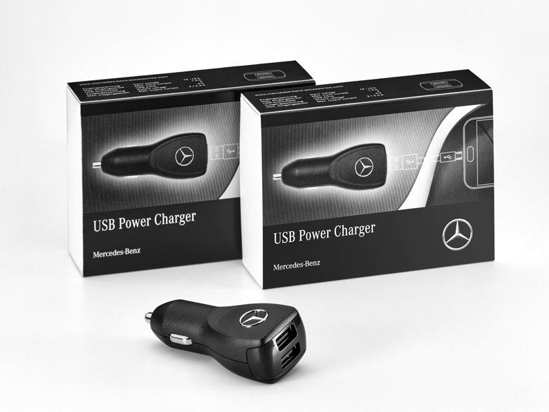 Original Mercedes-Benz Power Charger Adapter Zigarettenanzünder A2138200803